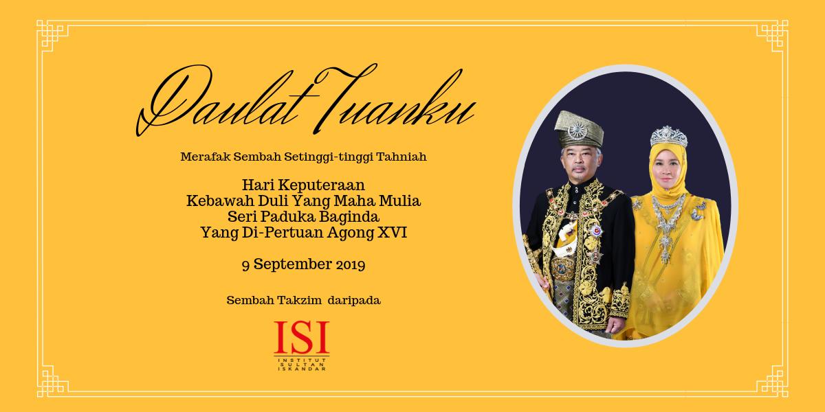Utm Isi Institut Sultan Iskandar Cuti Umum Hari Keputeraan Agong