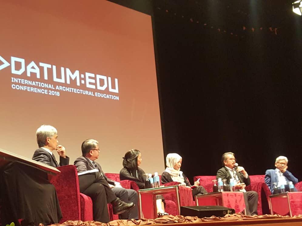 DATUM: EDU International Architectural Education Conference 2018