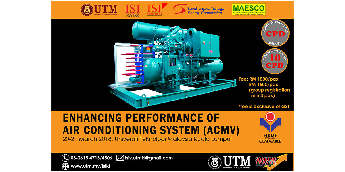 Workshop on Enhancing Performance of Air Conditioning System