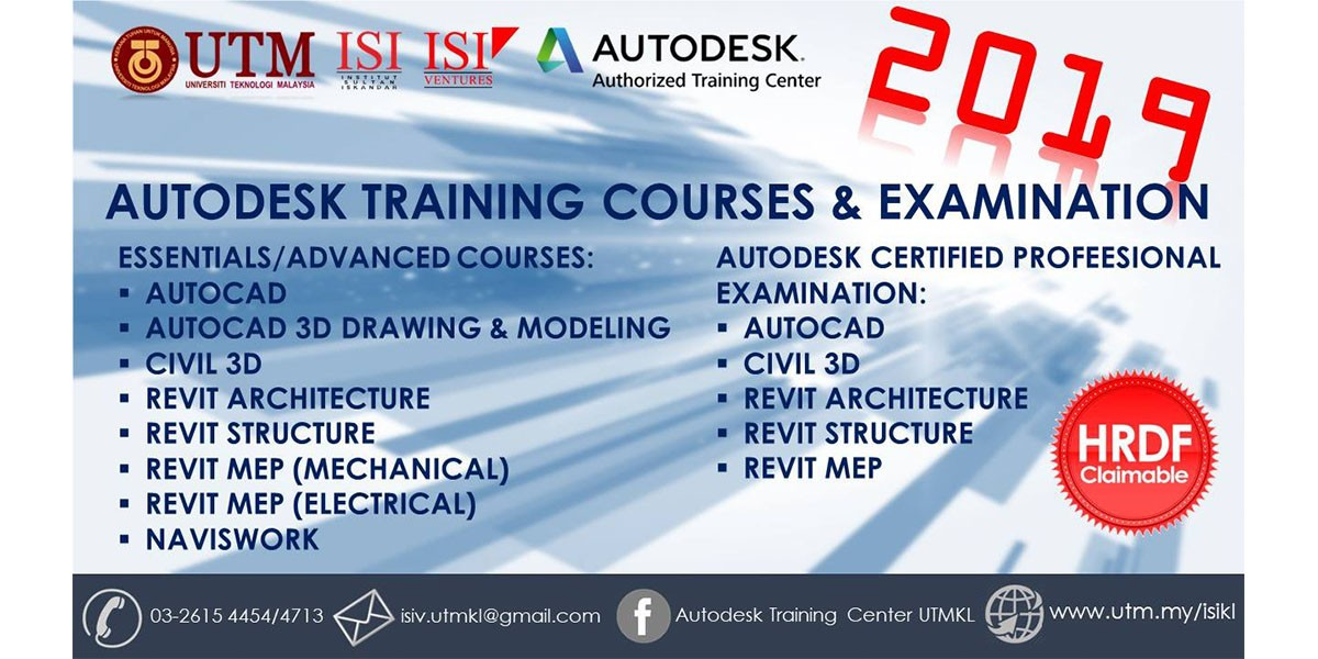Autodesk Training Center 2019